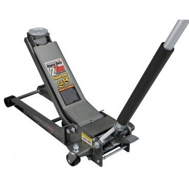 2 ton low profilelong reach steel heavy duty floor jack with rapid pump