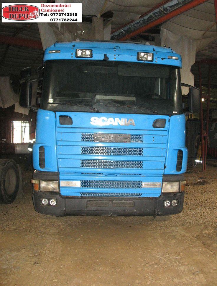 Dezmembrez Scania 400.124R. Pentru mai multe detalii, contactati-ne: 0773 743 315, 0771 782 244, 0365 424 682, office@truckdepo.ro .