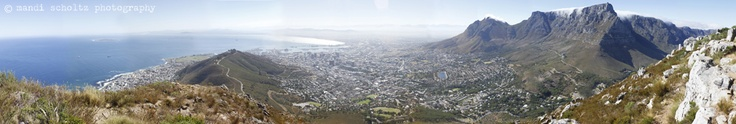 Cape Town view from Lions Head mountain  - mandi scholtz photography
