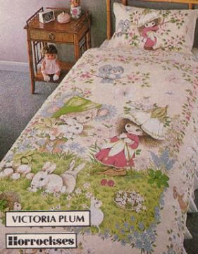 Victoria Plum Bed Covers - I didn't have these myself but a good friend did!