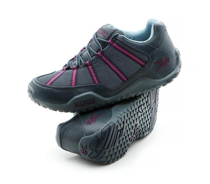 KURU Chicane Active Walking Shoes for Plantar Fasciitis - Midnight Blue -  Pair - www.