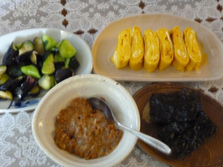 Japanese breakfast♪