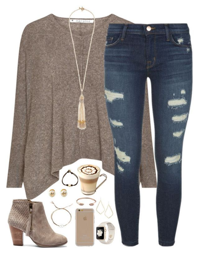 """""""your vibe attracts your tribe"""" by kaley-ii ❤ liked on Polyvore featuring J Brand, Sole Society, Miriam Haskell, Dogeared, Tory Burch, Agent 18 and Kendra Scott"""