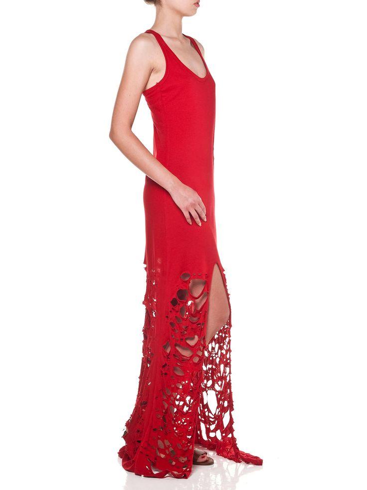 Vassilis Thom, Red Summer Dress