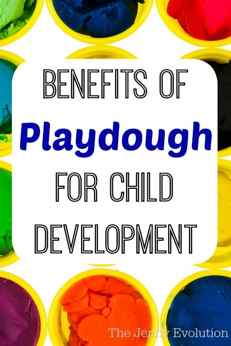 Check out these wonderful benefits of playdough and clay your child receives every time she pops out the fun.