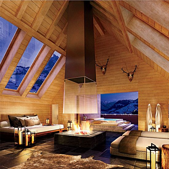 The Alpina Gstaad, Gstaad, Switzerland. Via F&W (www.foodandwine.com).