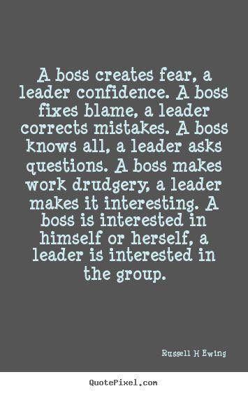I. Am. A. Leader.