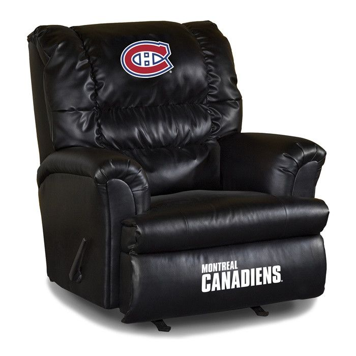 Use this Exclusive coupon code: PINFIVE to receive an additional 5% off the Montreal Canadiens Leather Big Daddy Recliner at SportsFansPlus.com