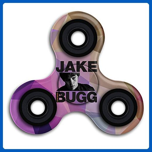 Lightning Bolt Jake Bugg Time Killing Tri Fidget Spinner Anxiety Relief Finger Toy - Fidget spinner (*Amazon Partner-Link)