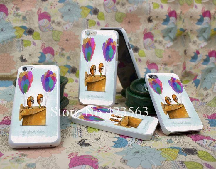 До pixar любовь hellip Стиль Трудная Крышка Белый Чехол для iPhone 4 4S 5 5S 6 6 s 6 7 7 Плюс Назад Печать дизайн