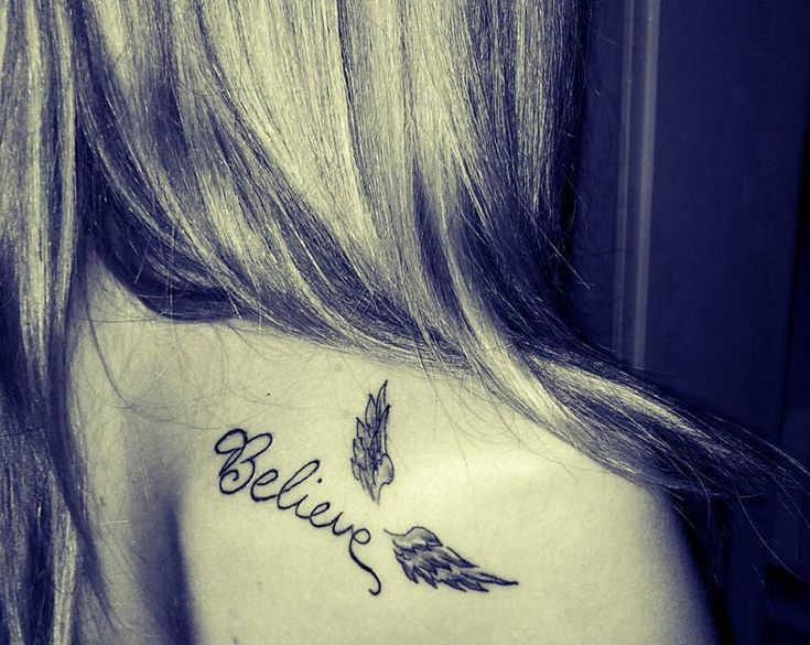cute small angel wings tattoo #ink #YouQueen #girly #tattoos