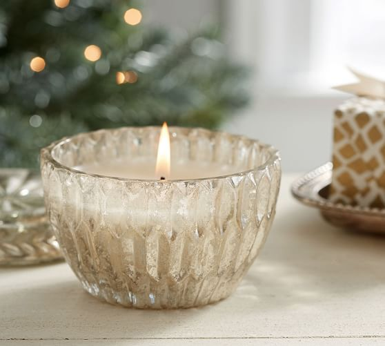 2015: Honeycomb Lidded Mercury Candle Pot Benefiting St. Jude Children's Research Hospital