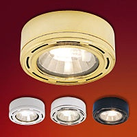 """Mini Solutions Grooved Trim   May be mounted recessed or surface (mounting ring supplied)   Die cast aluminum body, decorative plastic face and tempered glass   Includes 24"""" wire leads and connector   All fixtures are UL & CUL listed.  Regular price: $26.75  Sale price: $18.75"""
