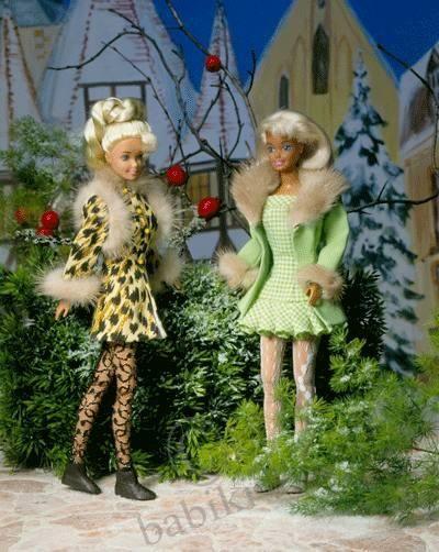 Выкройка одежды для куклы