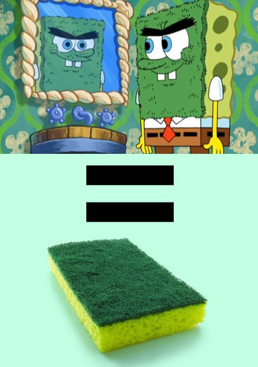 And that's exactly what my son calls those sponges. . .they aren't for cleaning. . .they are toys!