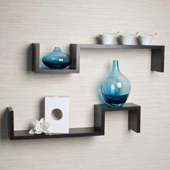 Buy Otto #Wall #Shelves - Set Of 2 in Black Finish Online in India. #Living #Room #Cabinets are available in a range of classic and contemporary styles at Wooden Street. Shop online for modern living room cabinets @ https://www.woodenstreet.com/living-cabinets in #Pune #Secunderabad #Surat #Thane #Vadodara
