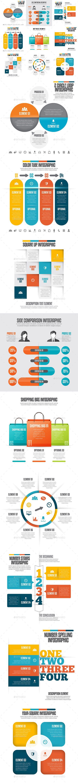 Infographic Set Template PSD, Vector EPS, AI #design Download: http://graphicriver.net/item/infographic-set-25/12999674?ref=ksioks