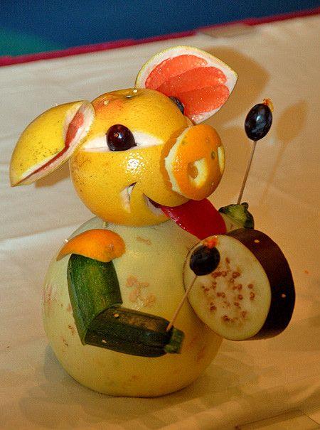 17 meilleures id es propos de sculptures de fruits sur pinterest sculpture sur l gumes - Comment faire murir un melon ...