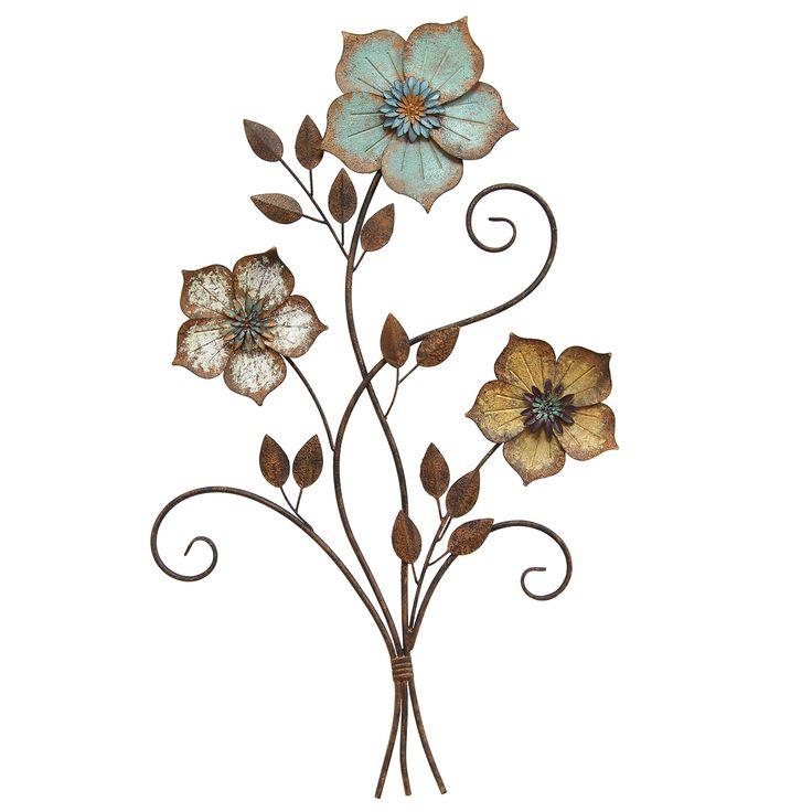 25 unique metal flower wall art ideas on pinterest metal flower wall decor metal art decor. Black Bedroom Furniture Sets. Home Design Ideas