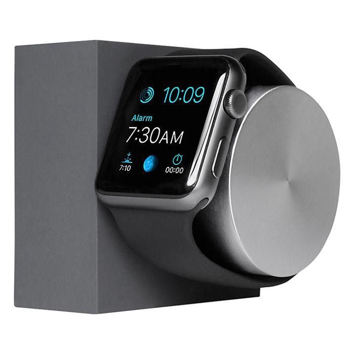 Apercu Image 1 Native Union Station de charge en silicone pour Apple Watch Gris Sidéral