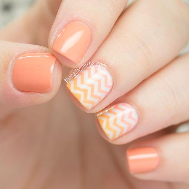 Uk Nail Art Blog Nail Art With Bite: 1000+ Ideas About Orange Nail Art On Pinterest