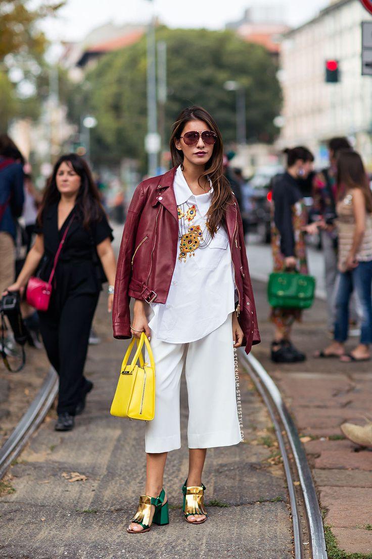 WANTED: valkoiset culottes-pökät! | White pants, vajaamittaiset housut - Pupulandia | Lily.fi