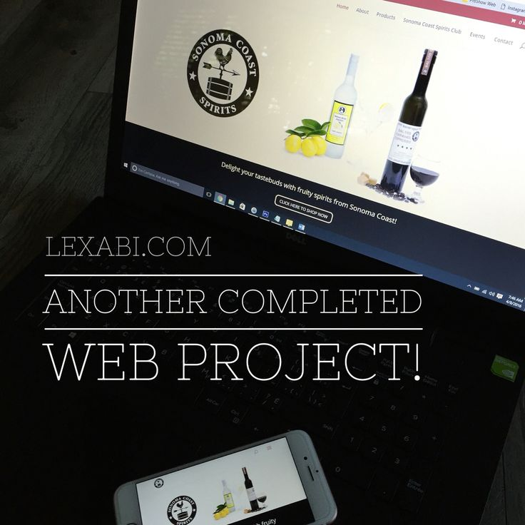 Another completed web project! Fabulous company to work with and we're pretty proud of the work we did. Visit SonomaCoastSpirits.com and have a peek yourself