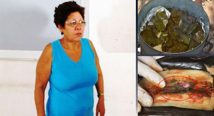 Anabel Gomez Lopez, una tamalera de la ciudad de México quien se ponía a vender en las afueras de la estación del metro Indios verdes fue detenida por agente de la PGJ el día de hoy.