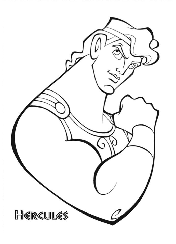 Free Printable Hercules Coloring Pages For Kids Disney