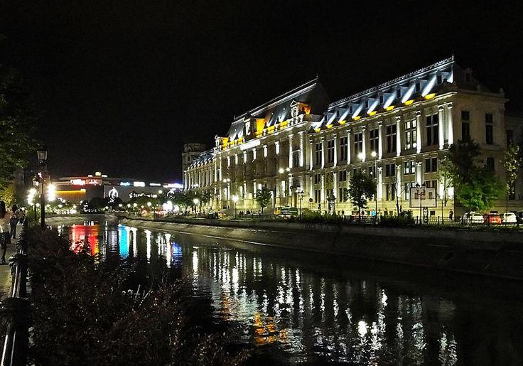 Bucharest by night by nancydev