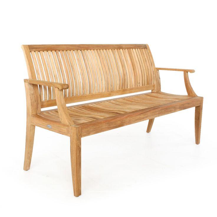 Laguna Teak Outdoor Bench 5 ft - Commercial Grade