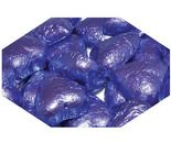 A bulk 1kg bag of Dolci Doro Lavender Chocolate Hearts.