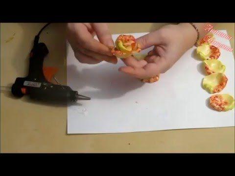 МК Солнечная роза - YouTube