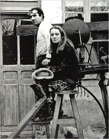 Niki de Saint Phalle and Tinguely