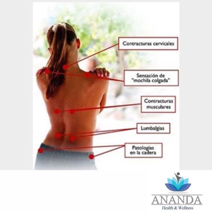 Cuáles son las causas del dolor de espalda?  El dolor de espalda puede tener muchas causas. Los problemas relacionados con la mecánica de la espalda misma pueden causar dolor. Por ejemplo:  Discos lesionados Espasmo Tensión muscular Hernia discal. Las lesiones causadas por esguinces fracturas accidentes y caídas pueden resultar en dolores de espalda.  El dolor de espalda también puede ocurrir junto con algunas otras condiciones y enfermedades tales como:  Escoliosis Espondilolistesis…