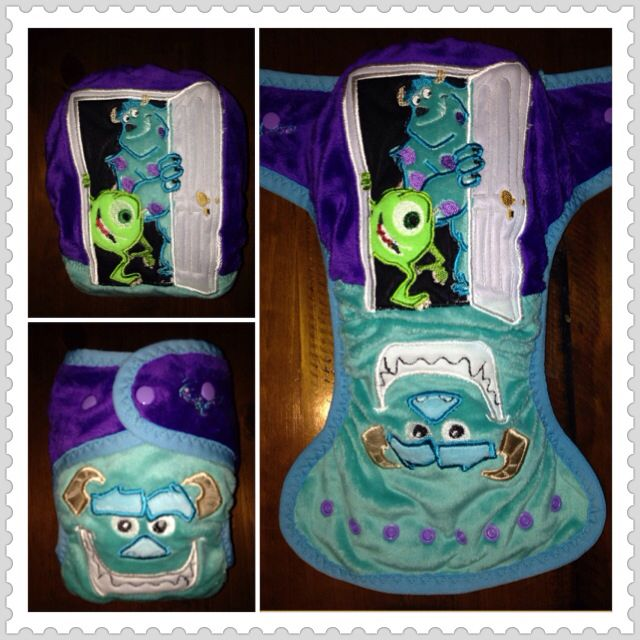Monsters Inc nappy