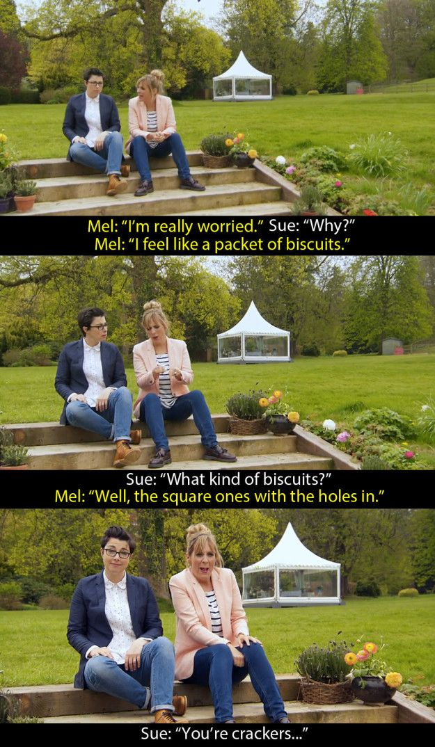 """When they did this at the start of biscuit week. 