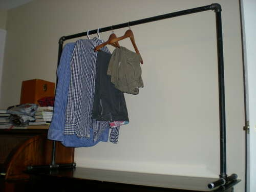 17 Best Images About Clothing Rack Ideas On Pinterest
