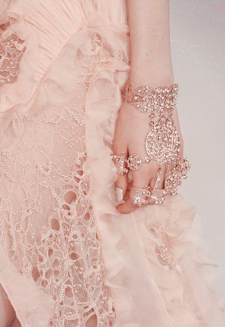 Rose Gold Hand Piece