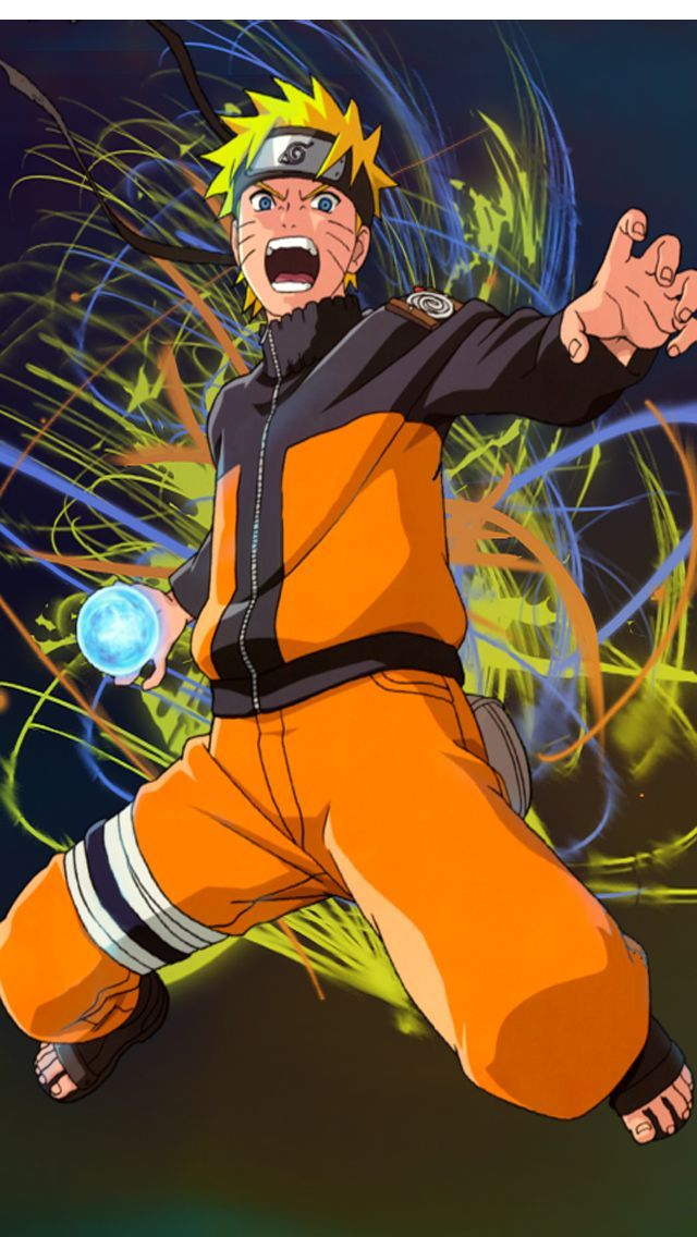 Naruto Shippuden Nine Tail Fox iPhone wallpapers and iPod touch