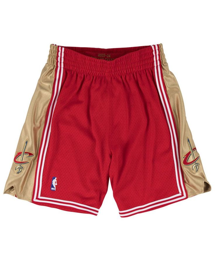Mitchell & Ness Men's Cleveland Cavaliers Authentic Shorts