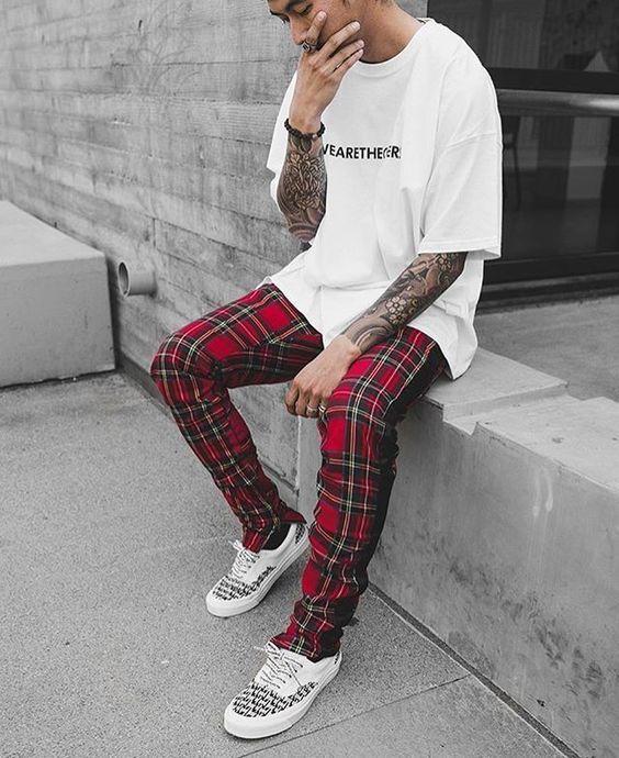 Macho Moda - Blog de Moda Masculina  CALÇA XADREZ MASCULINA  Como Usar no  dia a dia  Moda Masculina acead679b3c