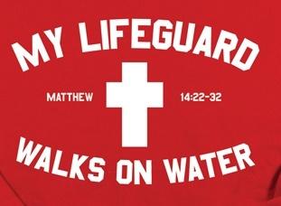 MY LIFE GUARD WALKS ON WATER  Mathew 14:22-32 www.mygof.com