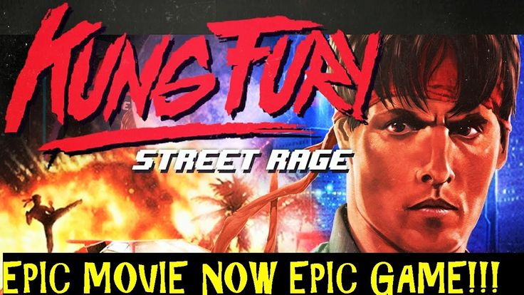 Kung fury Street Rage The Game. Based Off The Movie