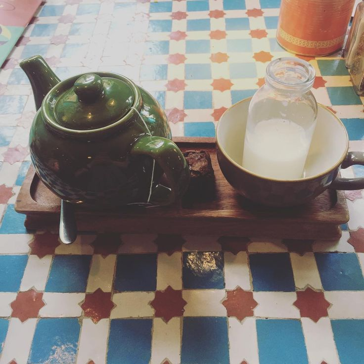 Well this was an adorable way to be served tea.  #teapigs #revolutiondecuba #revolutiondecubanottingham #tea #decubanotts