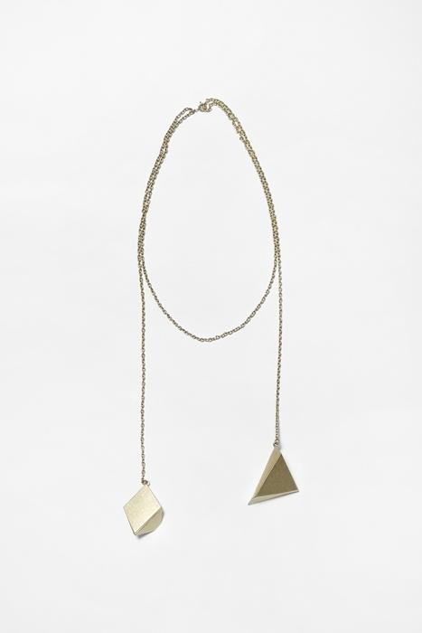 rock balance necklace