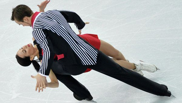 """Love it : """"Addams Family"""" routine with just one obvious mistake as Stolbova stepped out of a double toeloop."""