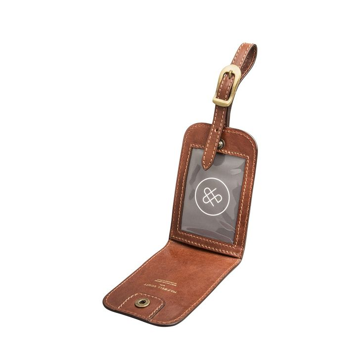 The Ledro - Luxury Italian Leather Luggage Tag