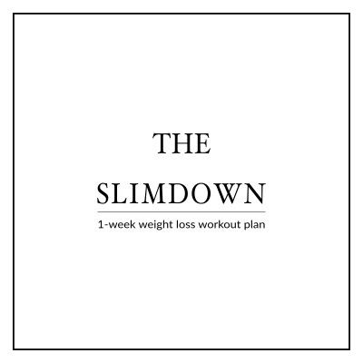 Get ready for a special event, a beach vacation or simply break through a weight loss plateau with the Bikini Body SlimDown Week. A 6 Day Workout Plan to instantly build your confidence, boost your weight loss and get you back on track! This program includes 6 high intensity workouts that sculpt and tone your whole body and help you slim down and look your best. http://www.spotebi.com/workout-plans/bikini-body-slim-down-week/