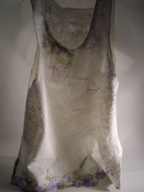 Jean Gauger's seamless nuno felted top